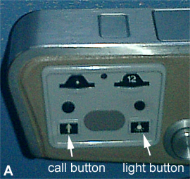 call button and light button are too similar