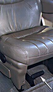 (picture of mini-van seat)